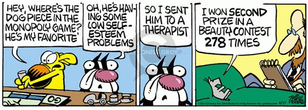 Comic Strip Mike Peters  Mother Goose and Grimm 2011-06-17 runner