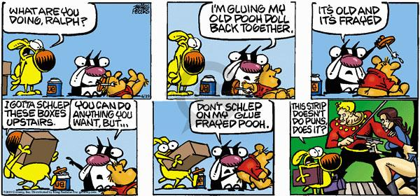 Comic Strip Mike Peters  Mother Goose and Grimm 2011-06-19 glue