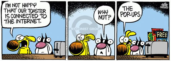Comic Strip Mike Peters  Mother Goose and Grimm 2011-07-13 advertising