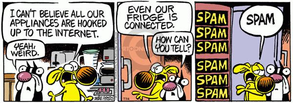 Comic Strip Mike Peters  Mother Goose and Grimm 2011-07-14 yeah