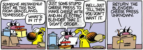 Comic Strip Mike Peters  Mother Goose and Grimm 2011-07-27 kitchen