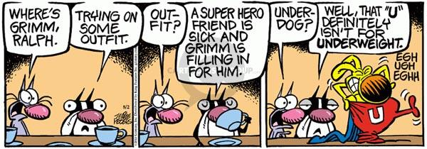 Comic Strip Mike Peters  Mother Goose and Grimm 2011-08-02 sick