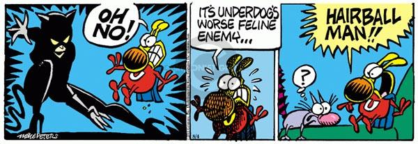 Comic Strip Mike Peters  Mother Goose and Grimm 2011-08-04 feline
