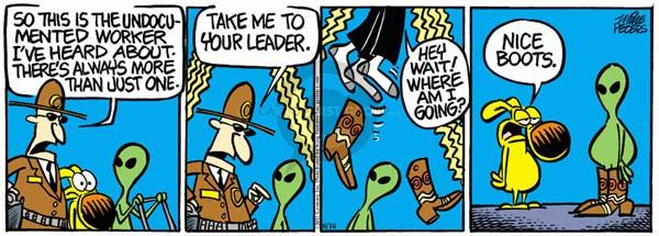 Comic Strip Mike Peters  Mother Goose and Grimm 2011-08-16 extra