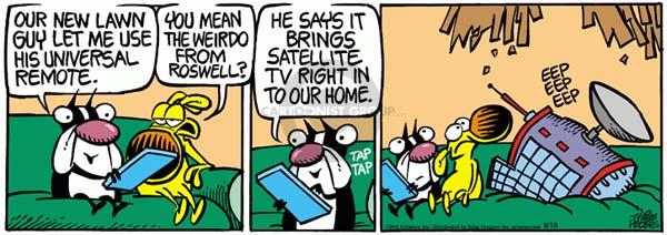 Comic Strip Mike Peters  Mother Goose and Grimm 2011-08-18 house