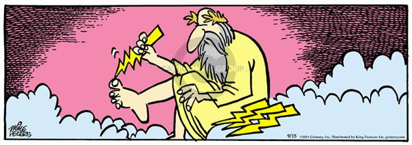 Comic Strip Mike Peters  Mother Goose and Grimm 2011-09-15 angel