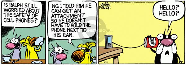 Comic Strip Mike Peters  Mother Goose and Grimm 2011-09-27 still