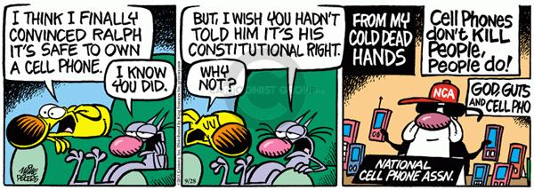 Comic Strip Mike Peters  Mother Goose and Grimm 2011-09-28 civil rights