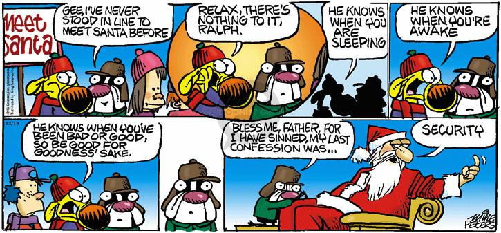 Comic Strip Mike Peters  Mother Goose and Grimm 2011-12-18 father