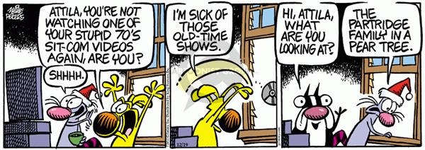 Comic Strip Mike Peters  Mother Goose and Grimm 2011-12-19 sick