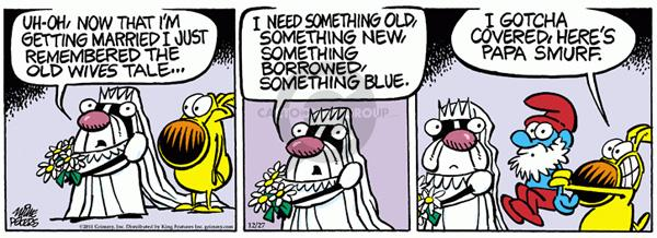 Comic Strip Mike Peters  Mother Goose and Grimm 2011-12-27 get old