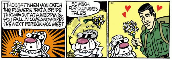 Comic Strip Mike Peters  Mother Goose and Grimm 2011-12-31 heart