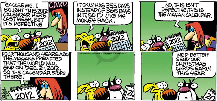 Comic Strip Mike Peters  Mother Goose and Grimm 2012-01-01 world