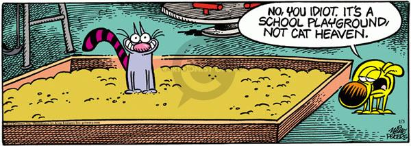 Comic Strip Mike Peters  Mother Goose and Grimm 2012-01-03 idiot