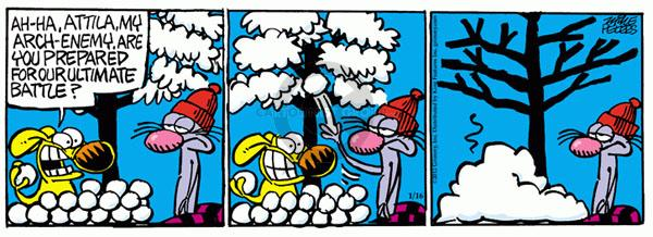 Comic Strip Mike Peters  Mother Goose and Grimm 2012-01-16 unexpected