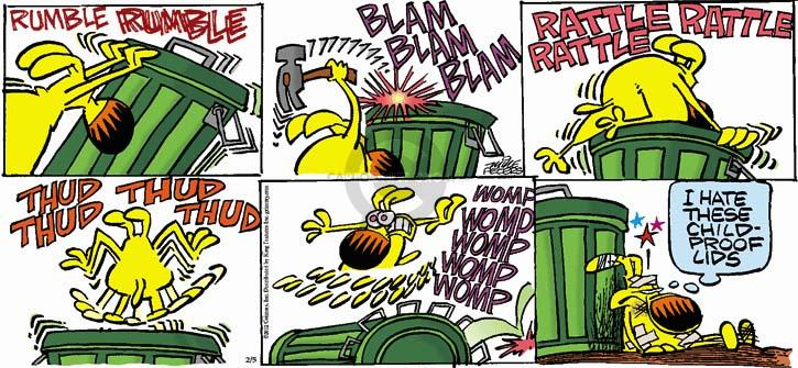 Comic Strip Mike Peters  Mother Goose and Grimm 2012-02-05 child safety