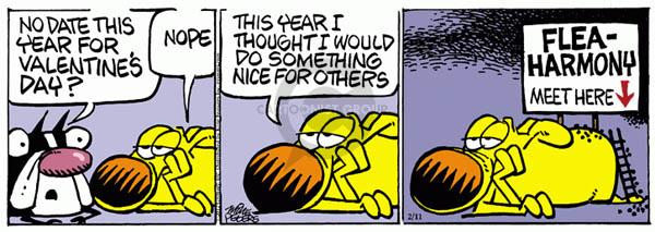 Cartoonist Mike Peters  Mother Goose and Grimm 2012-02-11 Valentine's Day