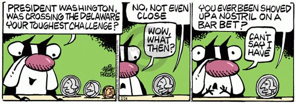 Comic Strip Mike Peters  Mother Goose and Grimm 2012-02-24 president