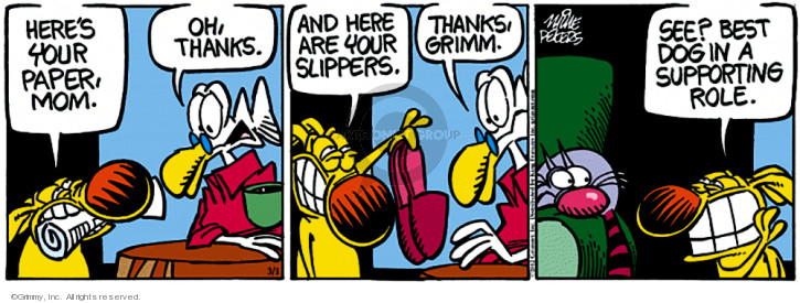 Comic Strip Mike Peters  Mother Goose and Grimm 2012-03-01 support