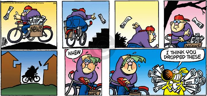 Comic Strip Mike Peters  Mother Goose and Grimm 2012-03-04 throw up