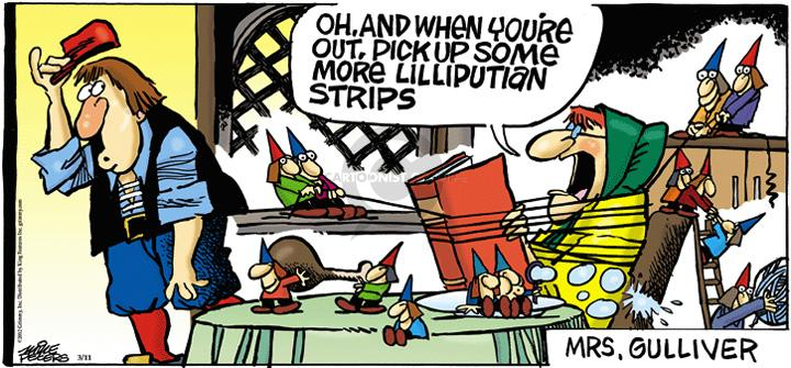 Comic Strip Mike Peters  Mother Goose and Grimm 2012-03-11 Mrs.
