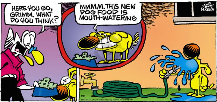 Comic Strip Mike Peters  Mother Goose and Grimm 2012-03-18 mouth