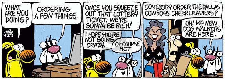 Comic Strip Mike Peters  Mother Goose and Grimm 2012-04-02 online gambling