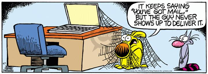 Comic Strip Mike Peters  Mother Goose and Grimm 2012-04-07 email