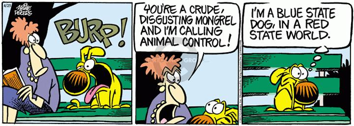 Comic Strip Mike Peters  Mother Goose and Grimm 2012-04-25 world