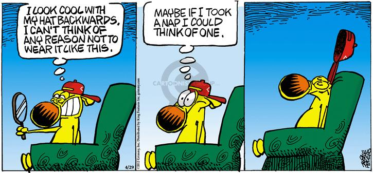 Comic Strip Mike Peters  Mother Goose and Grimm 2012-04-29 direction