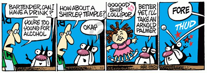 Comic Strip Mike Peters  Mother Goose and Grimm 2012-05-02 actress