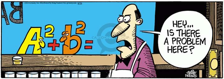 Comic Strip Mike Peters  Mother Goose and Grimm 2012-05-21 algebra