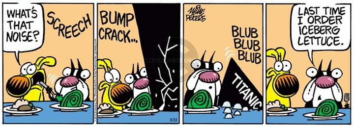 Cartoonist Mike Peters  Mother Goose and Grimm 2012-05-22 goose bump