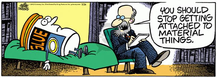 Comic Strip Mike Peters  Mother Goose and Grimm 2012-05-26 health