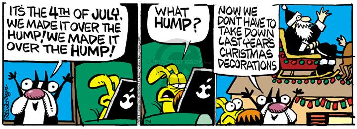 Comic Strip Mike Peters  Mother Goose and Grimm 2012-07-04 delay