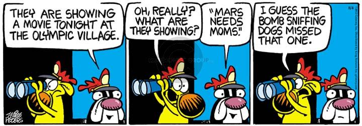 Comic Strip Mike Peters  Mother Goose and Grimm 2012-08-04 summer Olympics