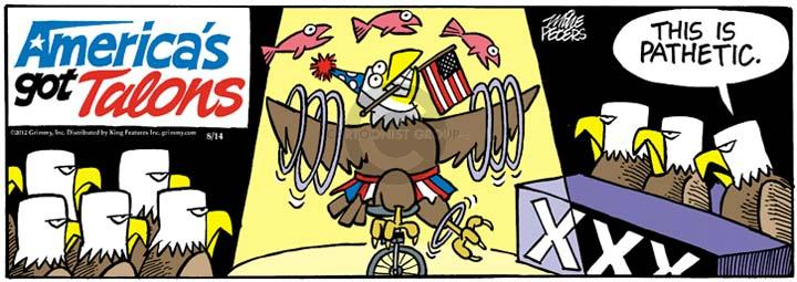 Comic Strip Mike Peters  Mother Goose and Grimm 2012-08-14 fish