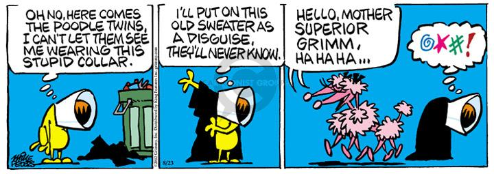 Comic Strip Mike Peters  Mother Goose and Grimm 2012-08-23 disguise