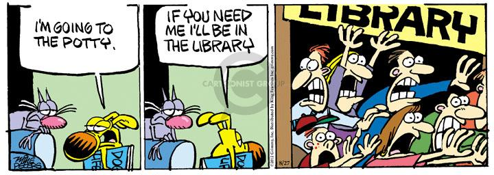 Comic Strip Mike Peters  Mother Goose and Grimm 2012-08-27 library
