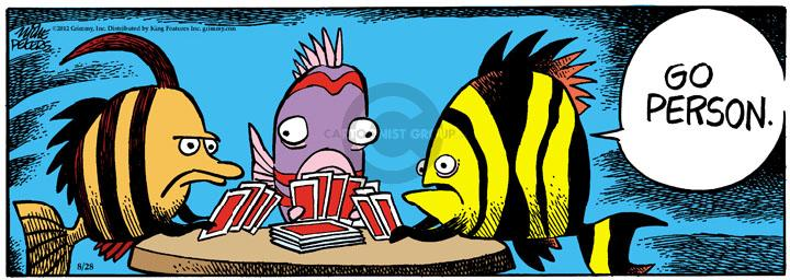 Comic Strip Mike Peters  Mother Goose and Grimm 2012-08-28 fish