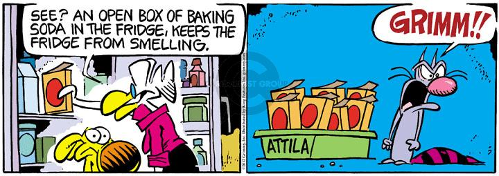 Comic Strip Mike Peters  Mother Goose and Grimm 2012-08-30 refrigerator