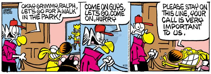 Comic Strip Mike Peters  Mother Goose and Grimm 2012-09-25 delay