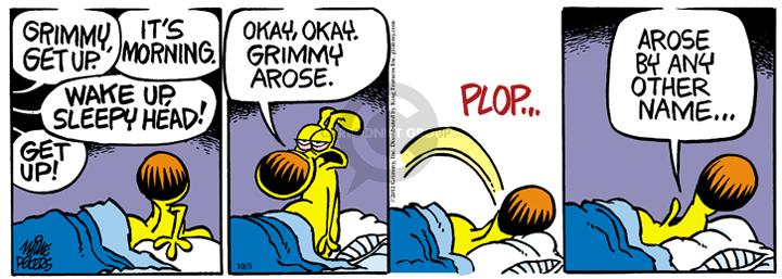 Comic Strip Mike Peters  Mother Goose and Grimm 2012-10-05 phrase
