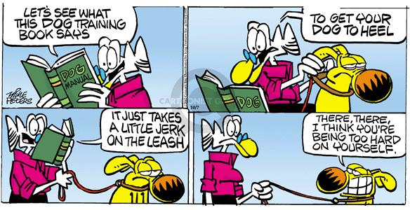 Comic Strip Mike Peters  Mother Goose and Grimm 2012-10-07 characteristic