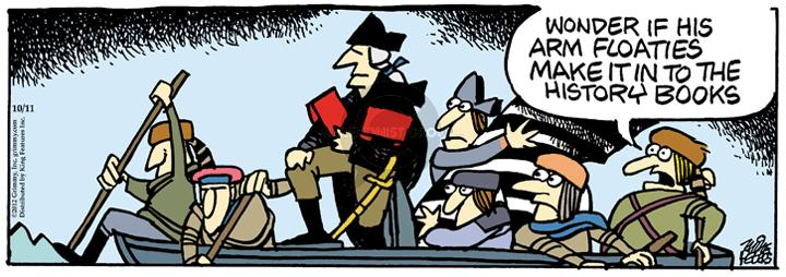 Comic Strip Mike Peters  Mother Goose and Grimm 2012-10-11 president