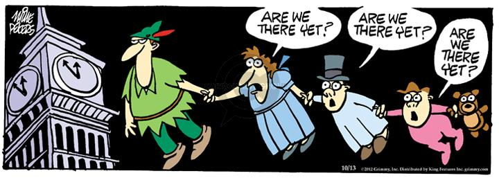 Cartoonist Mike Peters  Mother Goose and Grimm 2012-10-13 flight