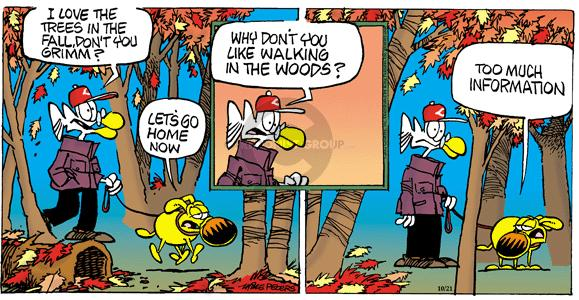 Comic Strip Mike Peters  Mother Goose and Grimm 2012-10-21 fall in love