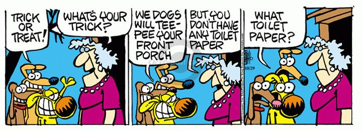 Comic Strip Mike Peters  Mother Goose and Grimm 2012-10-29 tee