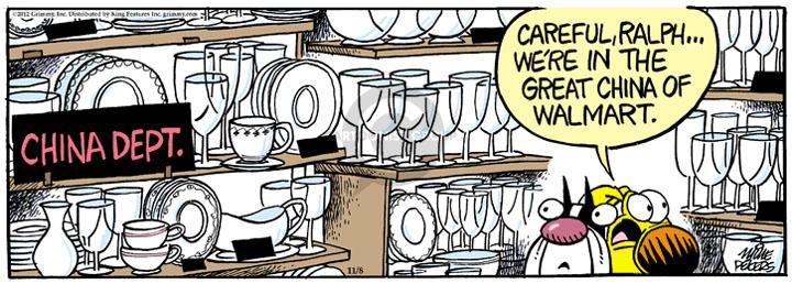 Comic Strip Mike Peters  Mother Goose and Grimm 2012-11-08 wine