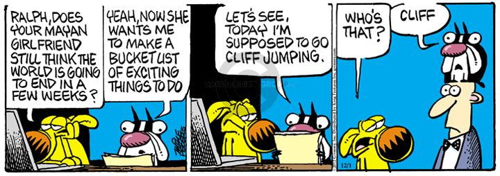 Comic Strip Mike Peters  Mother Goose and Grimm 2012-12-01 yeah